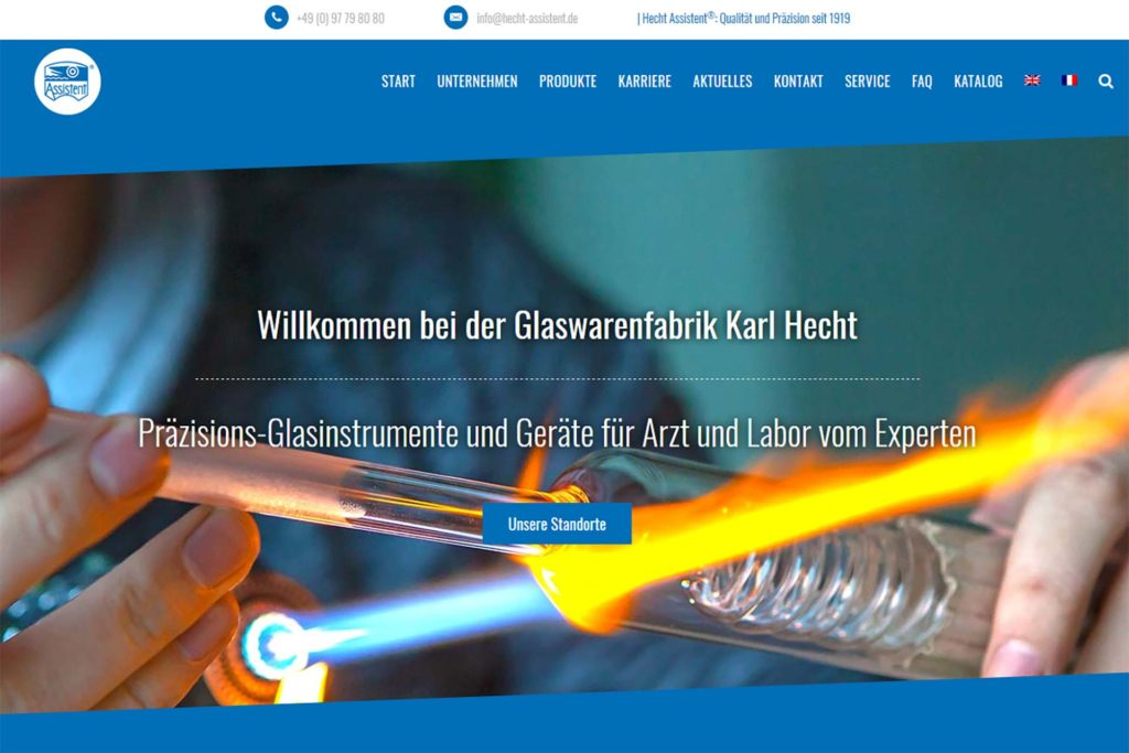 Website deutsch